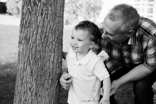 Dawn and Craig family 2015 black and white-175