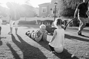 Dawn and Craig family 2015 black and white-178