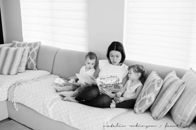 Dawn and Craig family 2015 black and white-205