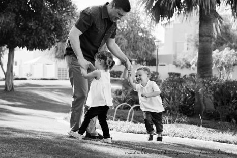 Dawn and Craig family 2015 black and white-34