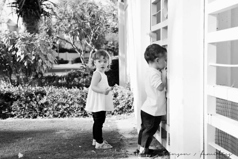 Dawn and Craig family 2015 black and white-72