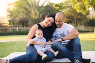 Lene, Wael and Lara for blog-74