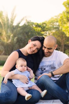 Lene, Wael and Lara for blog-76