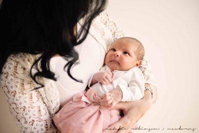 Farheen, Mihir and Bella newborn images-116