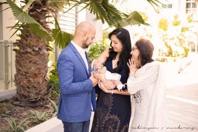Farheen, Mihir and Bella newborn images-124
