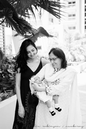 Farheen, Mihir and Bella newborn images-129