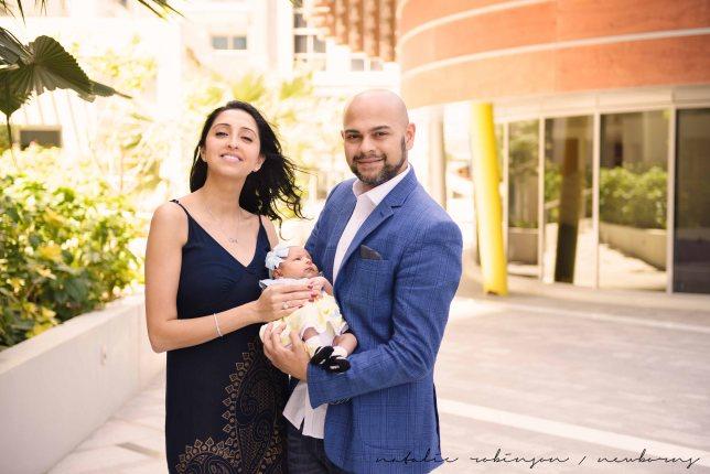 Farheen, Mihir and Bella newborn images-134
