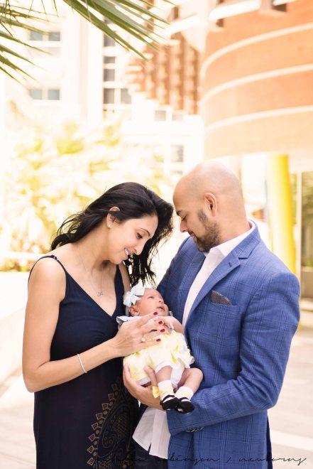 Farheen, Mihir and Bella newborn images-138