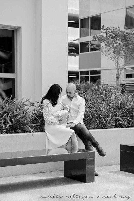 Farheen, Mihir and Bella newborn images-15