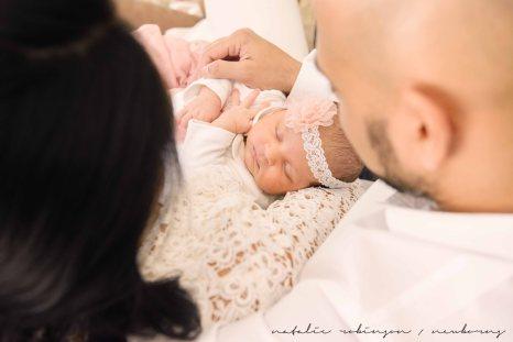 Farheen, Mihir and Bella newborn images-62