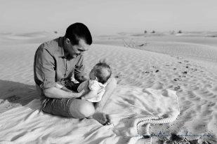 Dubai desert family shoot-75