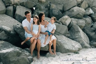Dubai beach family photoshoot-2