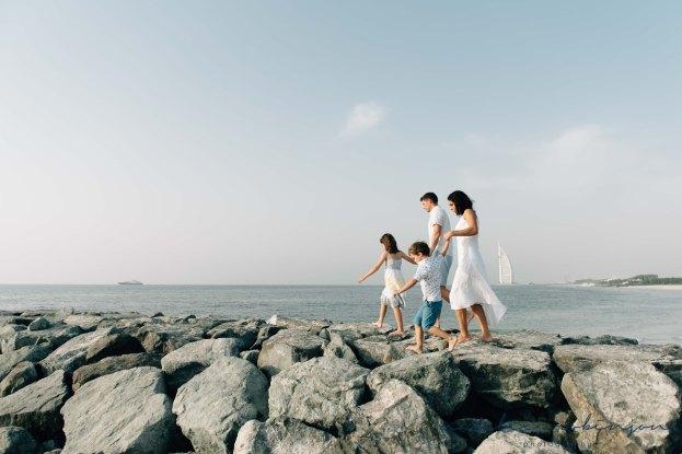Dubai beach family photoshoot-21
